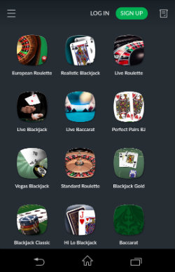 Play Blackjack & Roulette at BetVictor Mobile Casino