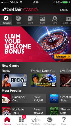 betfair how to use casino bonus