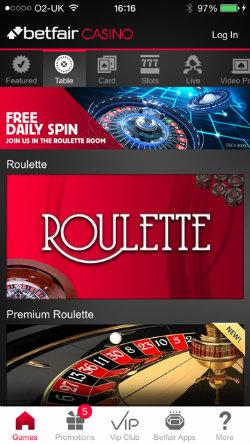 Betfair poker ipad app
