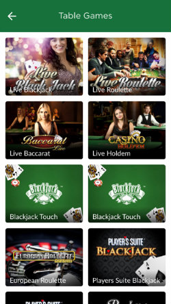 mr green casino app ios