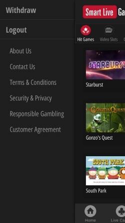 Smart Live Casino IOS App