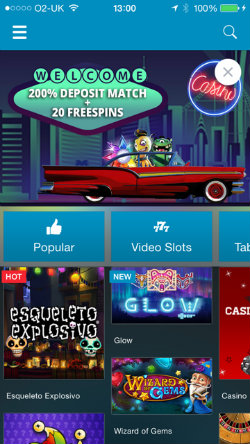 Play video slots on Sportingbet casino for iOS