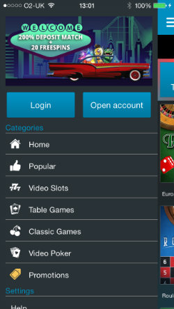 Casino promotions Sportingbet i-Phone & i-Pad