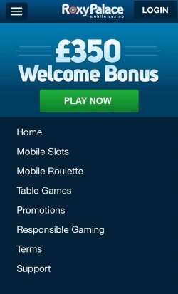 Roxy Palace | Play video poker, 5 reel and 3 reel slots plus blackjack and roulette
