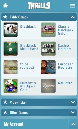 Thrills Mobile Casino | Play Blackjack, Roulette, Online Slots and Keno