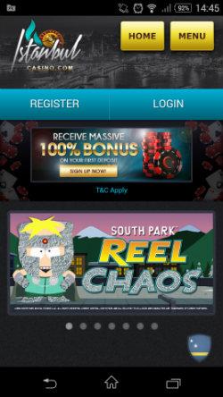 Get casino bonuses & casino rewards at Istanbul Mobile Casino