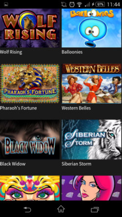 free online mobile casino gaming