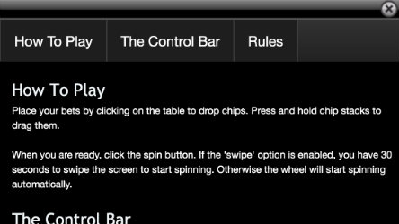 Play online Roulette on the Moneygaming Roulette App