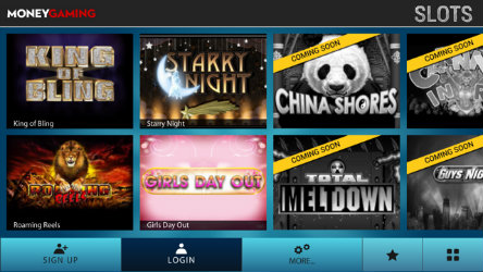 Get casino rewards on the Moneygaming Slots App