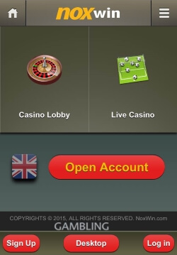 NOXwin Mobile Casino | Get £200 Free Casino Bonus and 50 Free Spins
