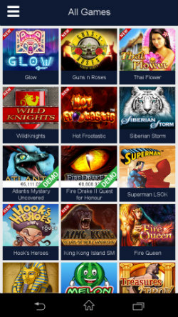 Play casino online with the Party Casino Android App