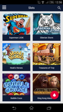 Play mobile slots at Party Mobile Casino