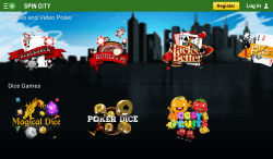 Spin City Android App | Play online slots like Treasure Island