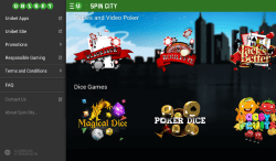 Spin City Android App | Play mobile blackjack and mobile roulette on the go
