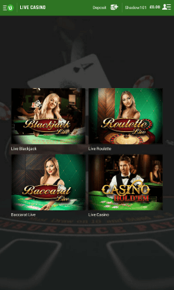 casino live online  android