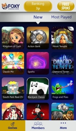 Foxy Casino App | Play video slots, scratch cards and table games