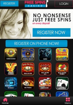 Free Spins Mobile Casino | Get up to 999 Free Spins on Starburst