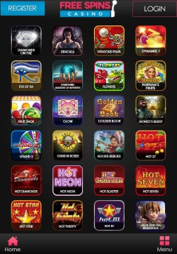 Free Spins Mobile Casino | Play mobile roulette and mobile blackjack