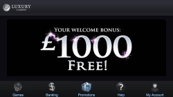 Luxury Casino App | Claim up to £1,000 in casino bonuses
