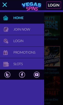 Vegas Spins | Play live blackjack and live roulette on your mobile device