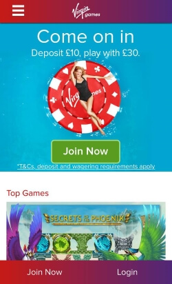 Virgin Games | Enjoy Casino Rewards including up to £200 free on a first deposit.