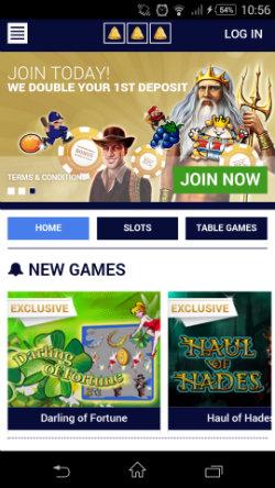 Get casino rewards & casino bonuses at Bell Fruit Mobile Casino