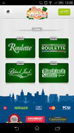 Play Roulette and Blackjack at Slotty Vegas Mobile Casino