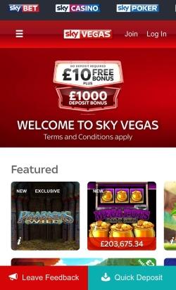 Sky vegas casino mobile aura 2 pc game