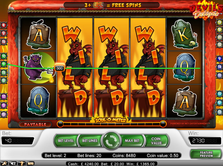 Devil's Delight - video slot