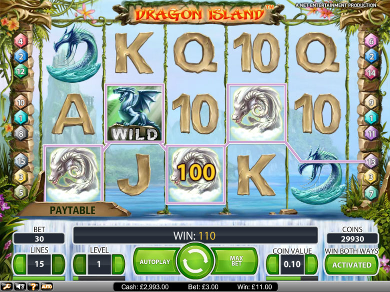 Dragon Island - video slot