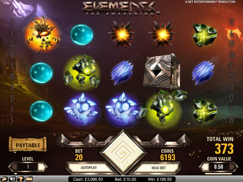 Elements: The Awakening - video slot