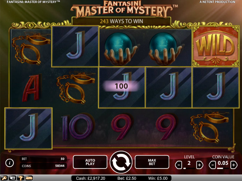 Fantasini: Master of Mystery - video slot