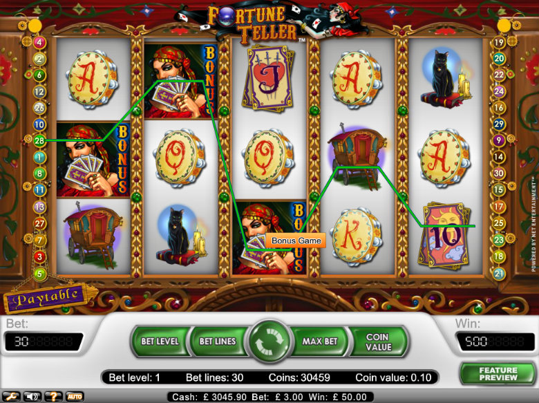 Fortune Teller - video slot
