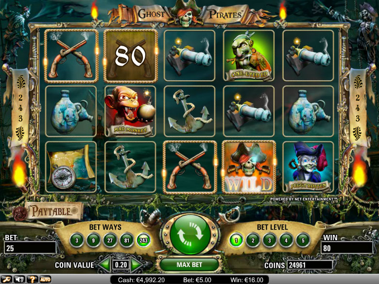 Ghost Pirates - video slot