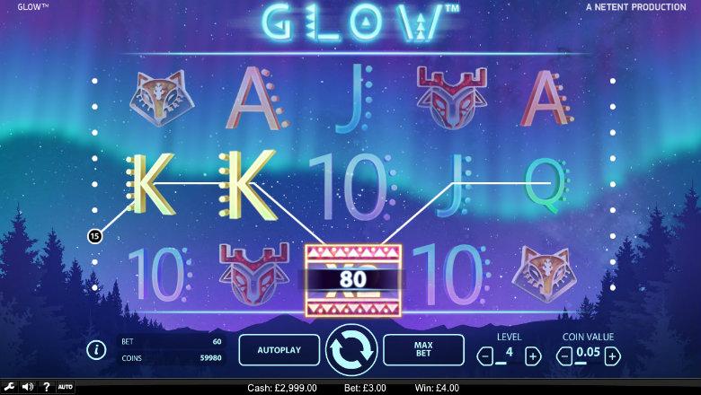 Glow - Video Slot