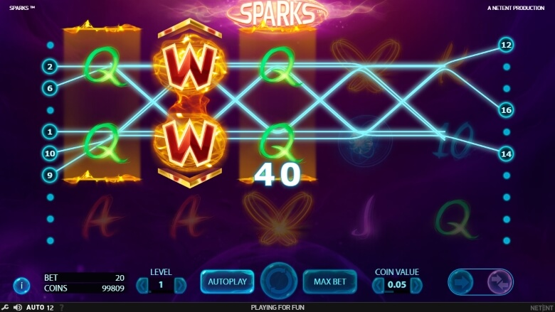 Sparks Online Video Slot