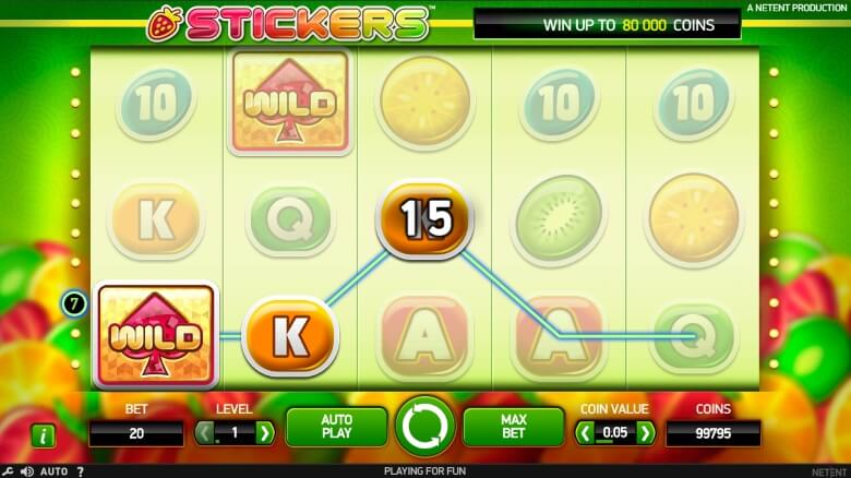 Stickers Online Slot - Sticky Wilds