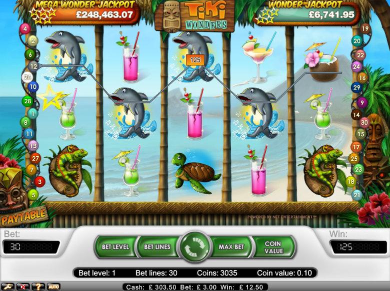 Tiki Wonders - video slot