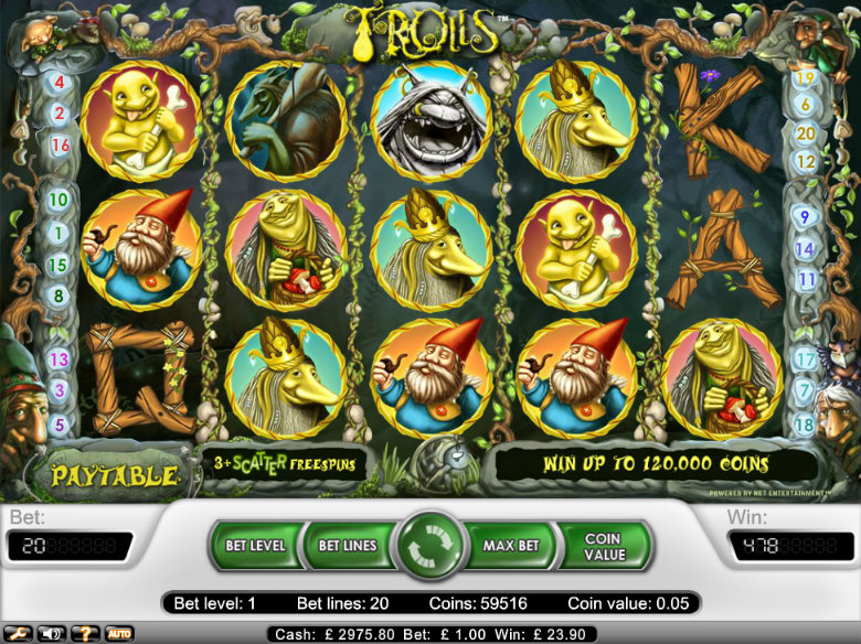 Trolls - video slot