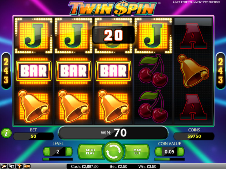 Twin Spin - video slot