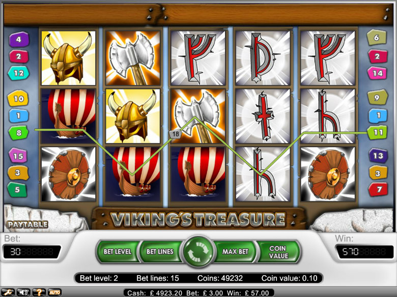 Viking's Treasure - video slot