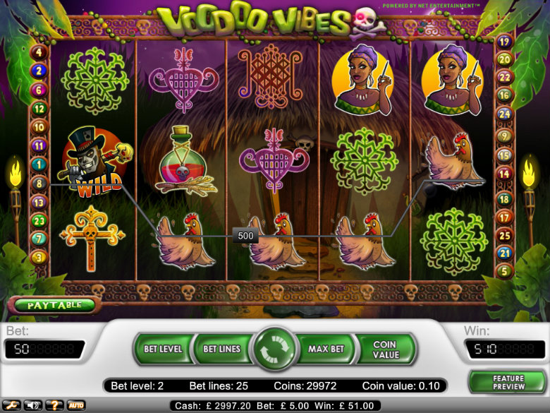 Voodoo Vibes - video slot