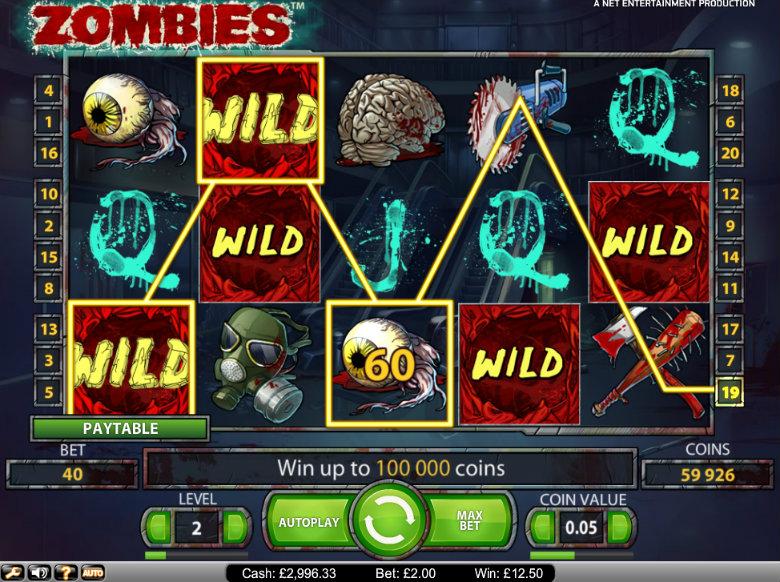 Zombies - video slot