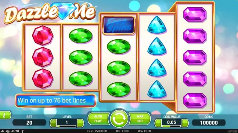Dazzle Me - Video Slot by NetEnt
