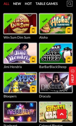 Sin Spins Mobile Casino   Get 25 free spins on your first deposit