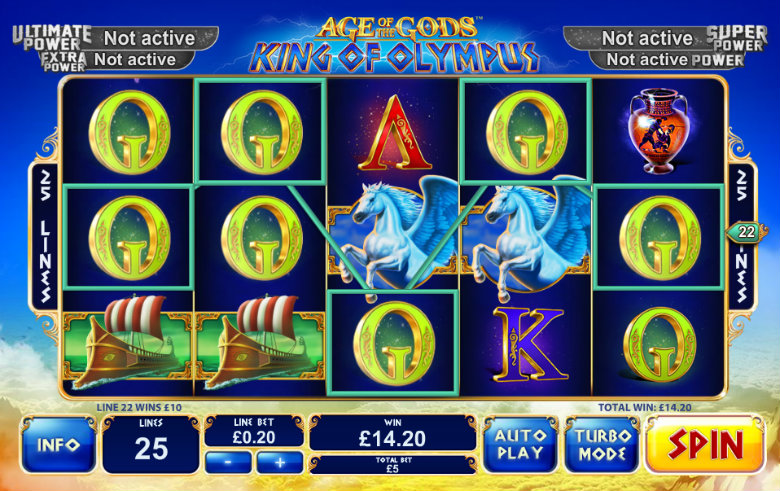 Age of the Gods: King Of Olympus - Jackpot Slot