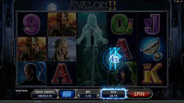 Avalon 2 - Video Slot