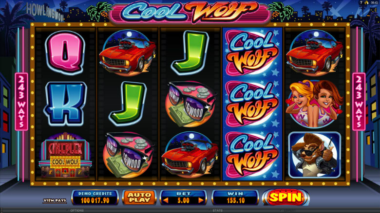 Cool Wolf - Video Slot