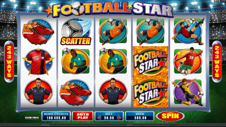 Football Star - Video Slot