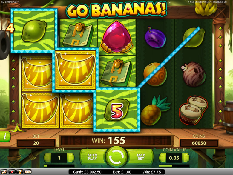 Go Bananas - Video Slot